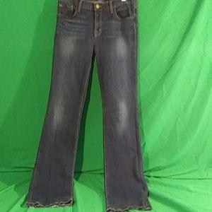 J brand slim boot leg jeans size 28